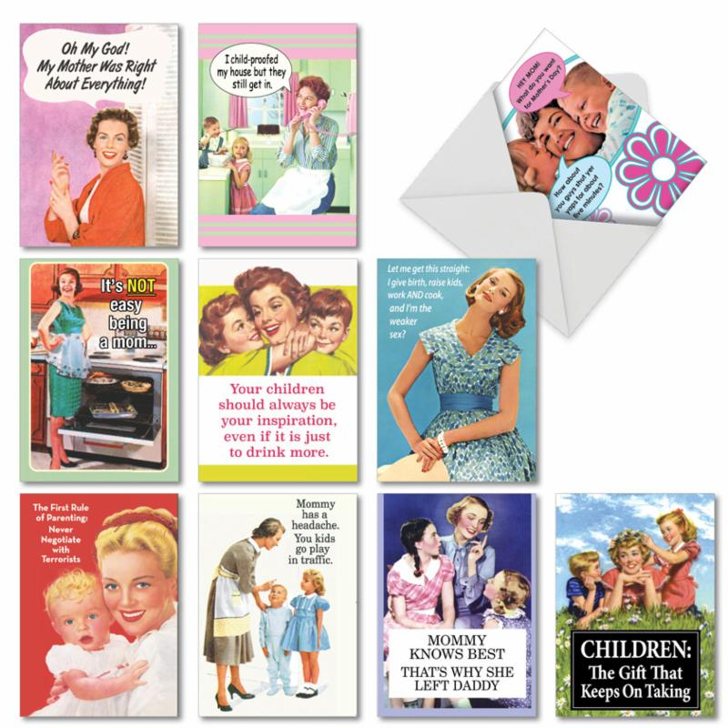 mother's day cards funny