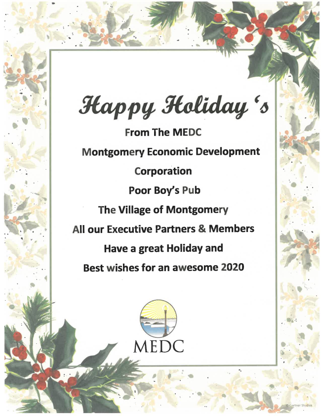 Happy Holidays from the MEDC