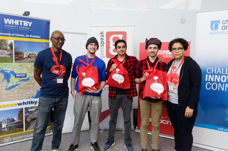 Second Place Winners from Ontario Tech University