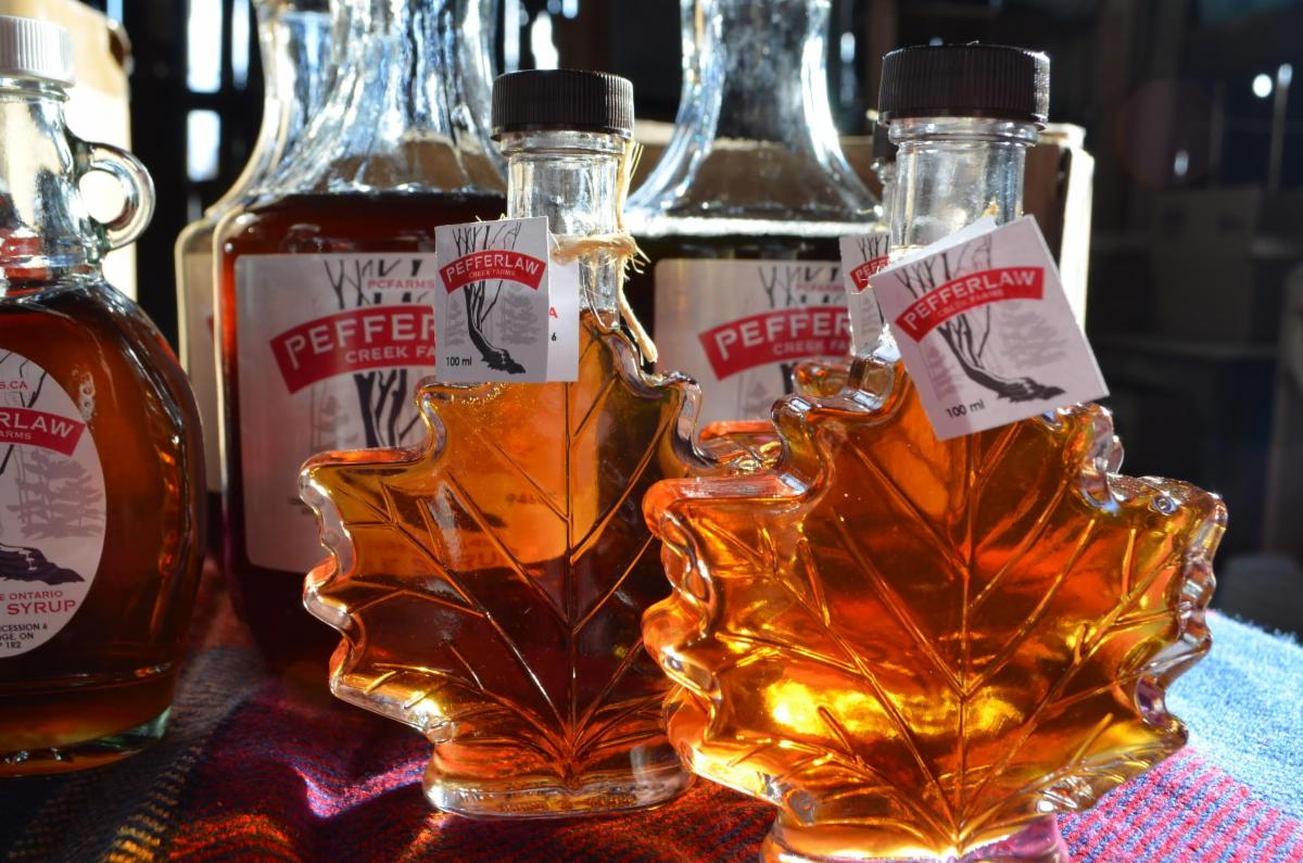Pefferlaw Creek Farm Maple Syrup