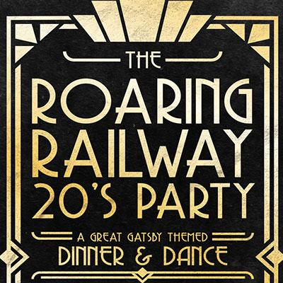 The Roaring Railway 20's Party