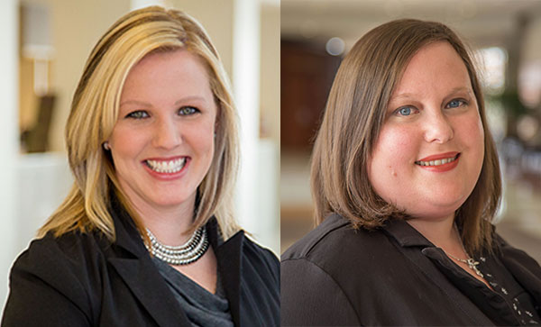 Kristyn Chambers and Lisa MacKenzie