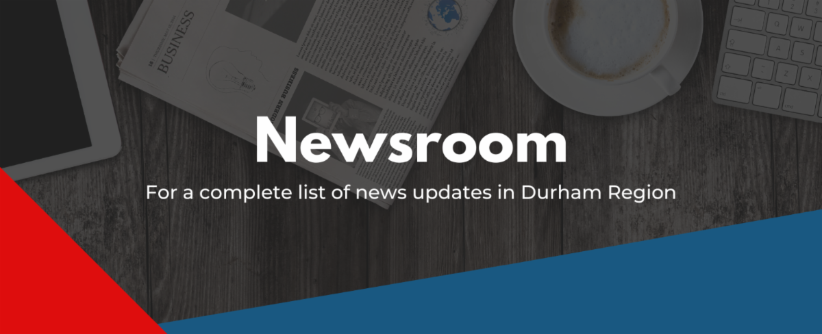 Durham Region Newsroom graphic