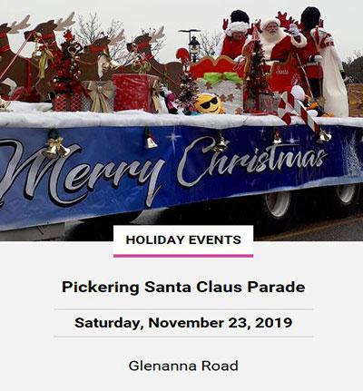 Pickering Santa Claus Parade