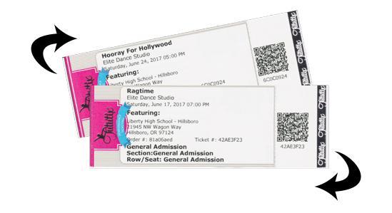 Ticket Exchange Swap
