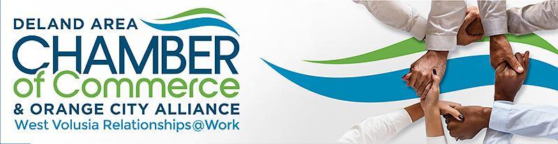 DeLand Area Chamber of Commerce and Orange City Alliance logo