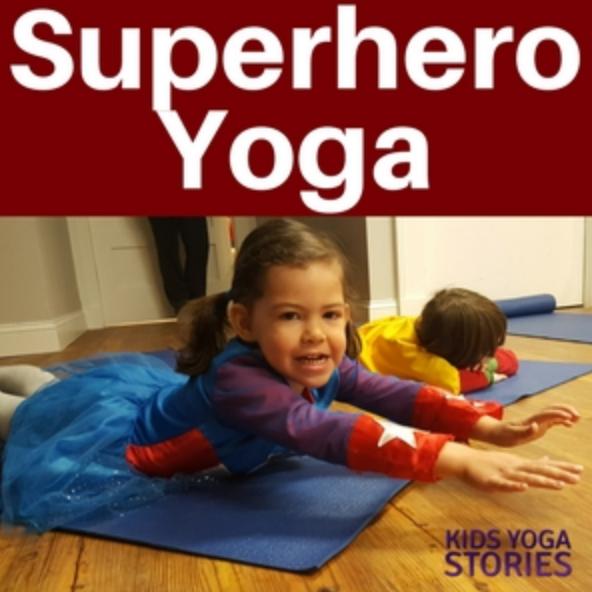 Superhero yoga!
