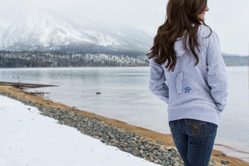 Grey Lightweight Hoodie for Women - RISE Designs