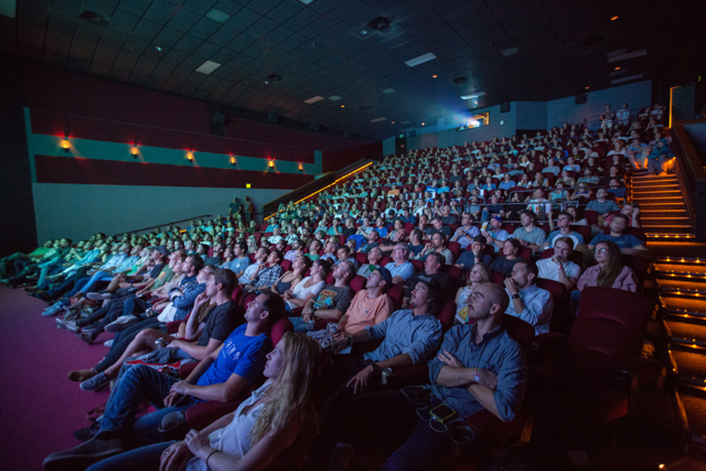 Sold out premiere of _Drop Everything_