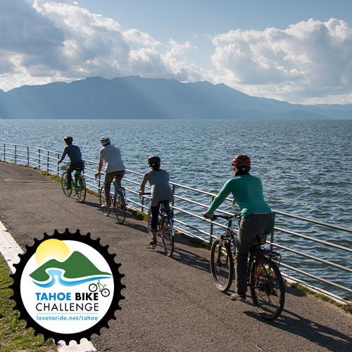 Tahoe bike challenge