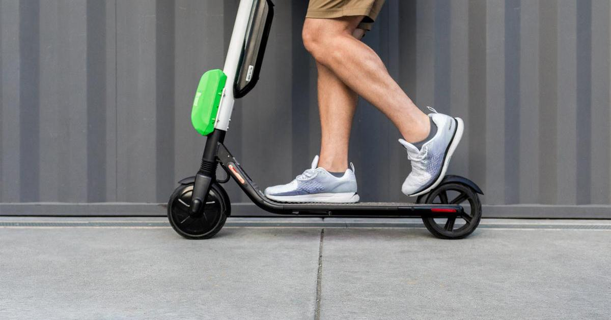 Lime scooter share program