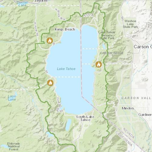 Tahoe prescribed fire operations