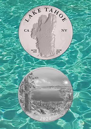 Lake Tahoe Commemorative Coin
