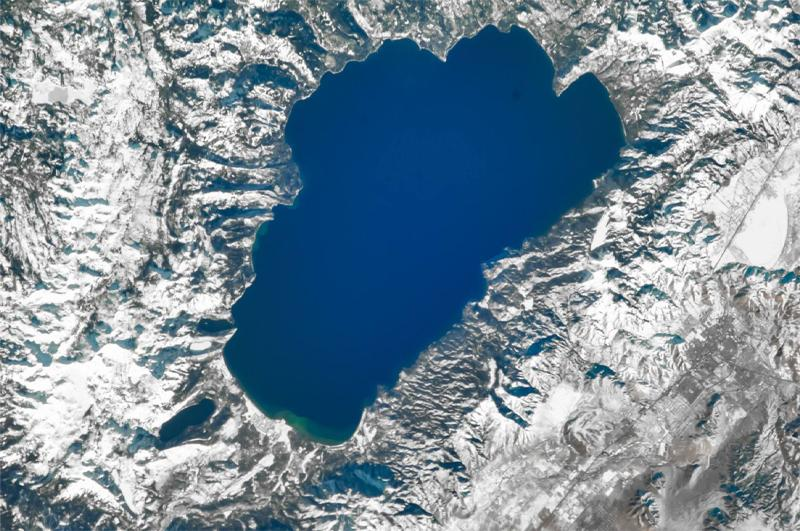 Tahoe from space