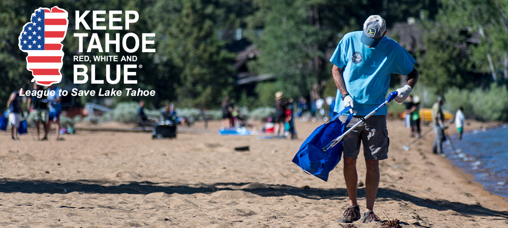 Keep Tahoe Red White and Blue