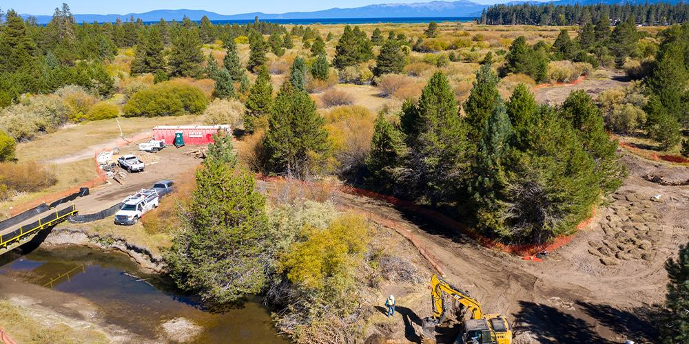 Restoration underway at Upper Truckee Marsh