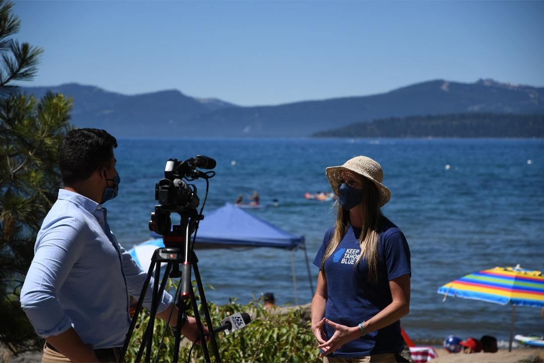 Interview for July 5th beach cleanup