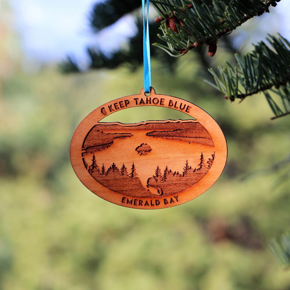 Emerald Bay ornament