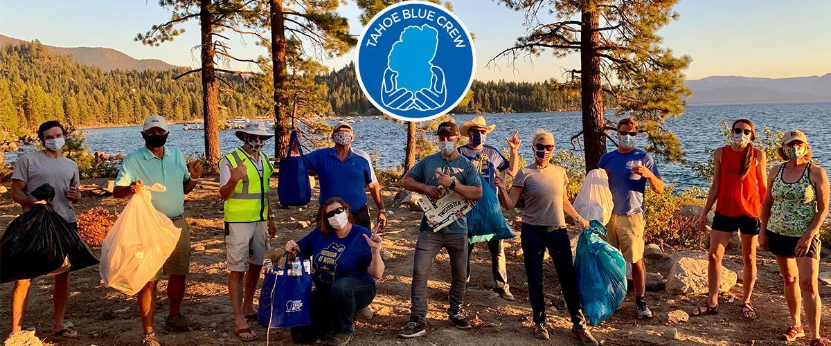 Tahoe Blue Crews keep it clean