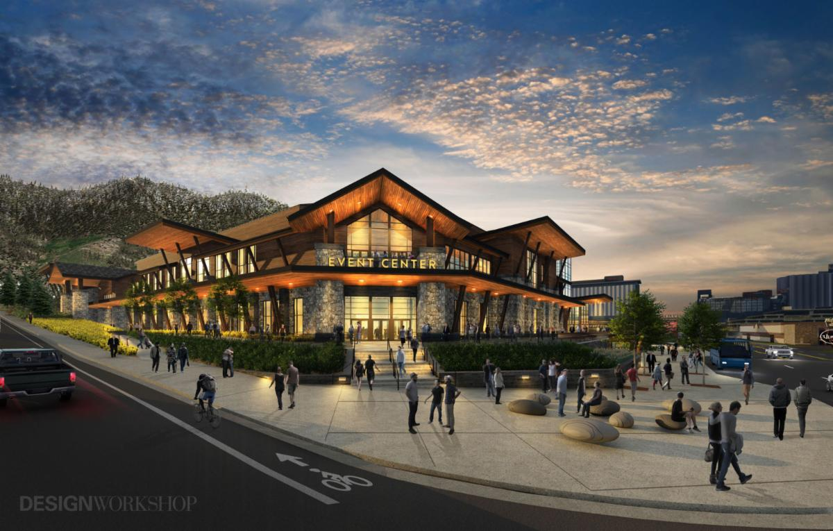 Tahoe South Event Center Rendering