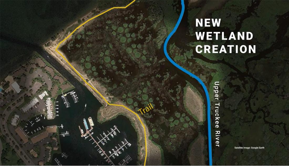 Upper Truckee Marsh after restoration