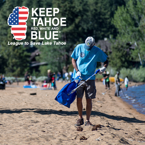Keep Tahoe Red White & Blue
