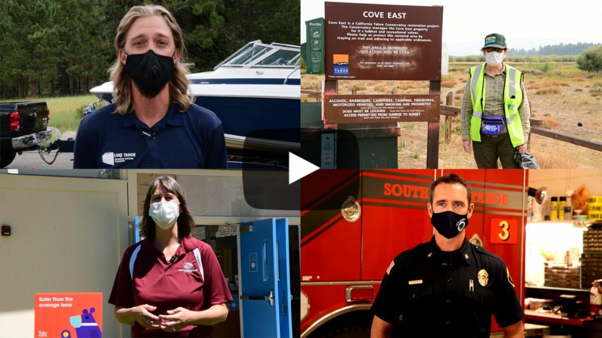 We salute Tahoe's frontline workers