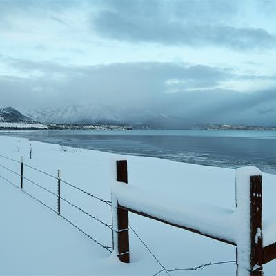 snowy fence 2021