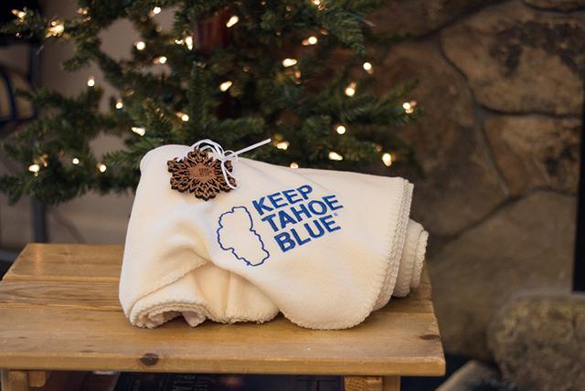 KTB ornament and fleece