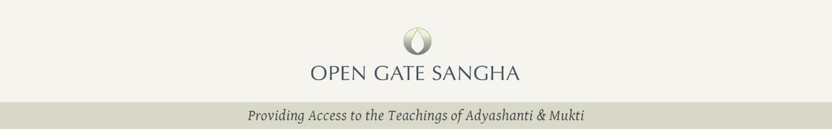 Open Gate Sangha Banner