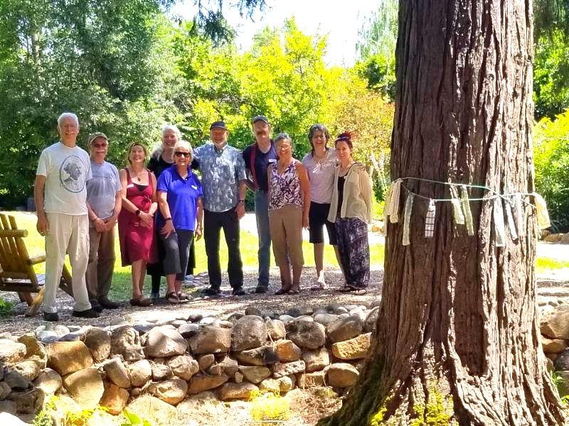 Temple Care Cedar Tree Ceremony