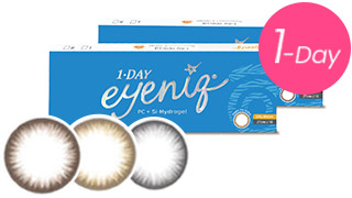 Geo eyeniq enhances the natural beauty of your eyes
