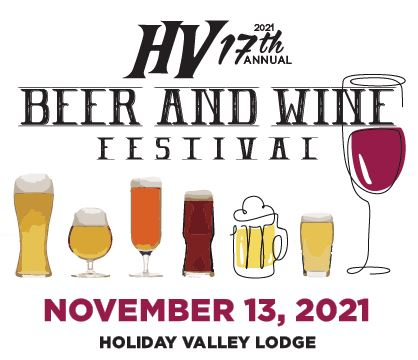 Holiday Valley Beer & Wine Festival Nov 13, 2021 at Holiday Valley Lodge