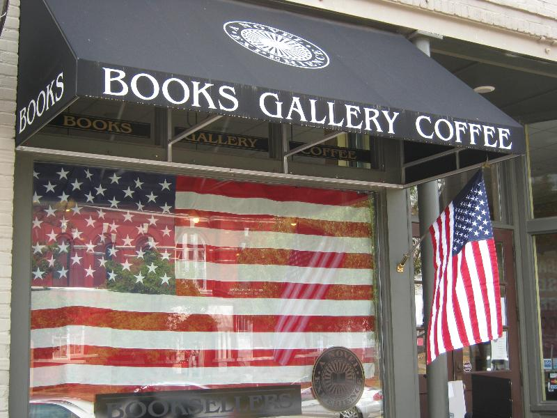 2012 Flag in the window