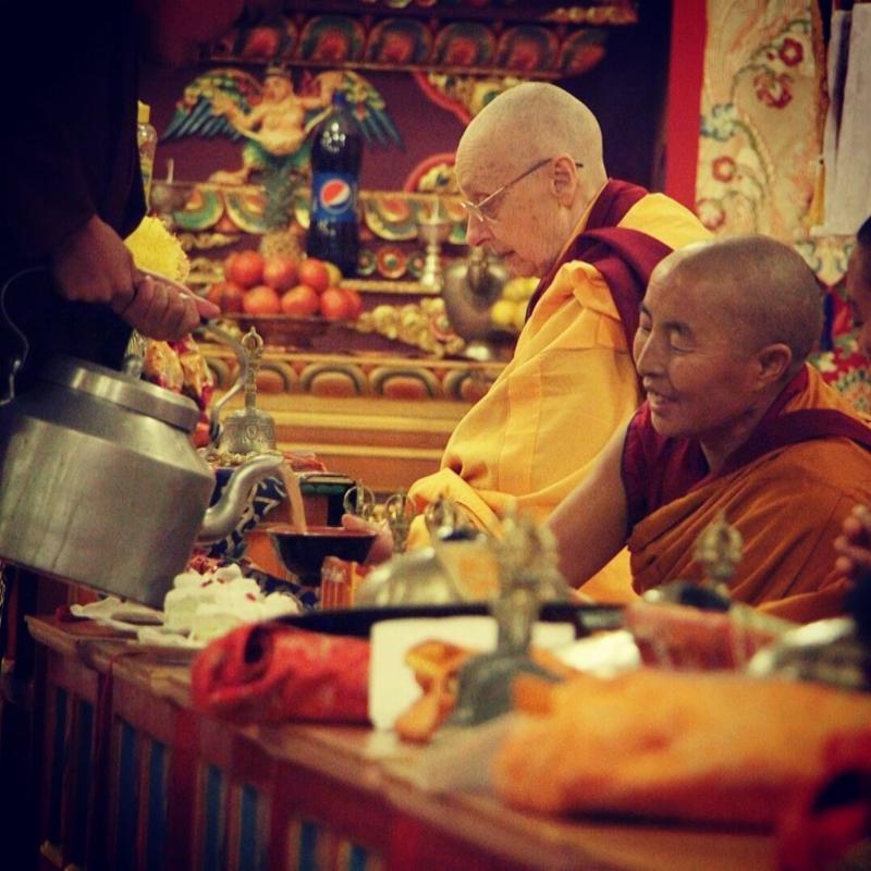 Jetsunma Tenzin Palmo at DGL