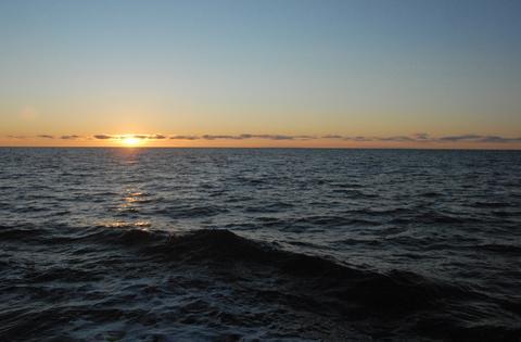 Chukchi Sea in Oct. 2020