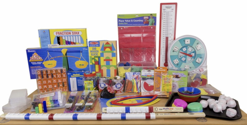Components and Mainpulatives of the Equals Mathematics kit