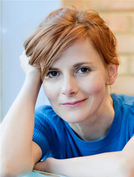 Narrator Louise Brealey