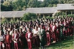 ethiopian students at devotions