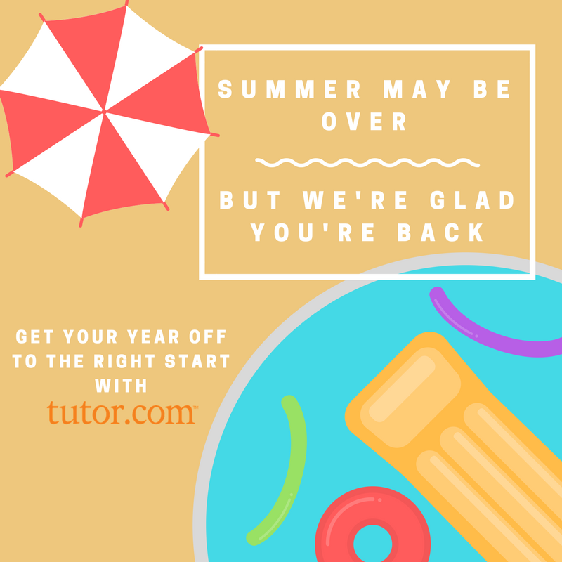 Summer may be over but we are glad you are back