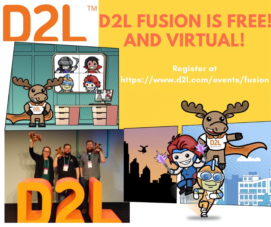 D2L Fusion conference