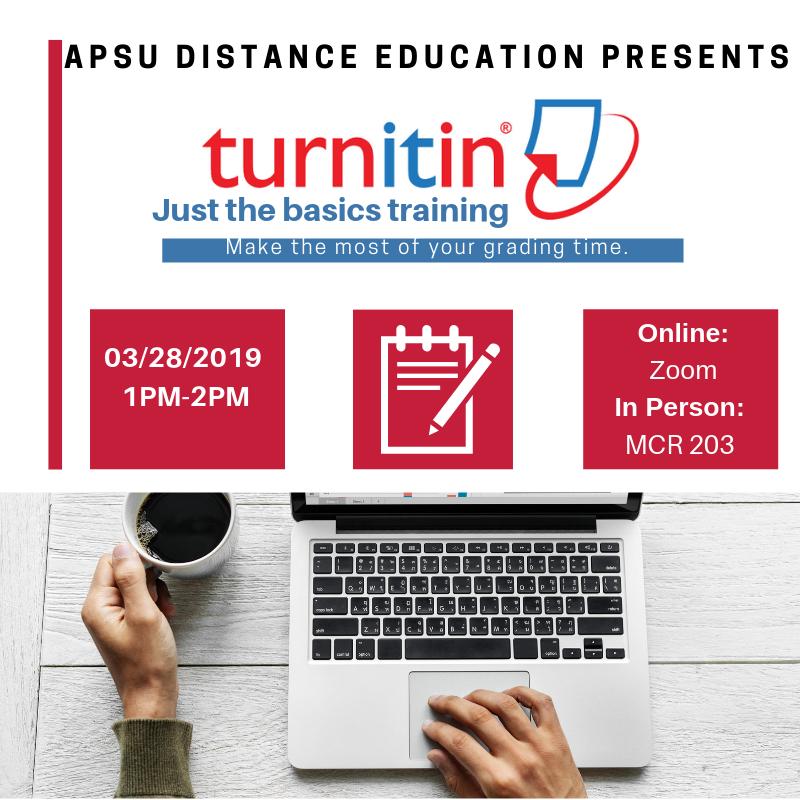 Last Turnitin Training Ad.