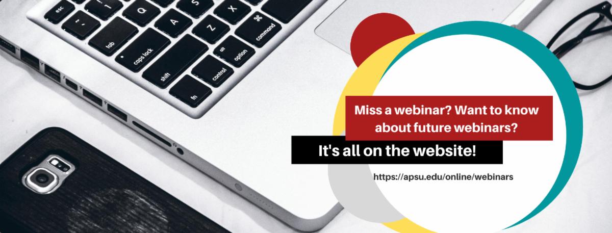 Did you miss a webinar