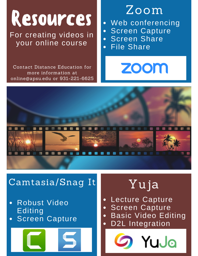 Resources for video creation