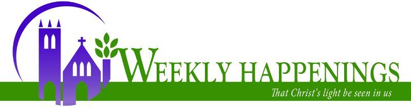 Weekly Happenings Header