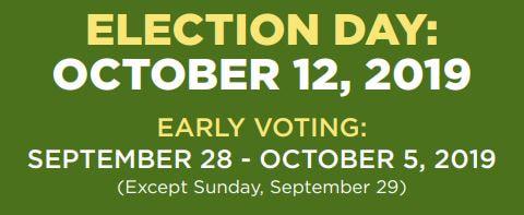 Karen Carter Peterson - Election_Day_schedule