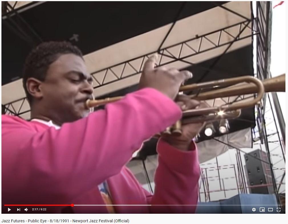 Marlon Jordan - Jazz_Futures_Newport_Jazz_Fest_1991