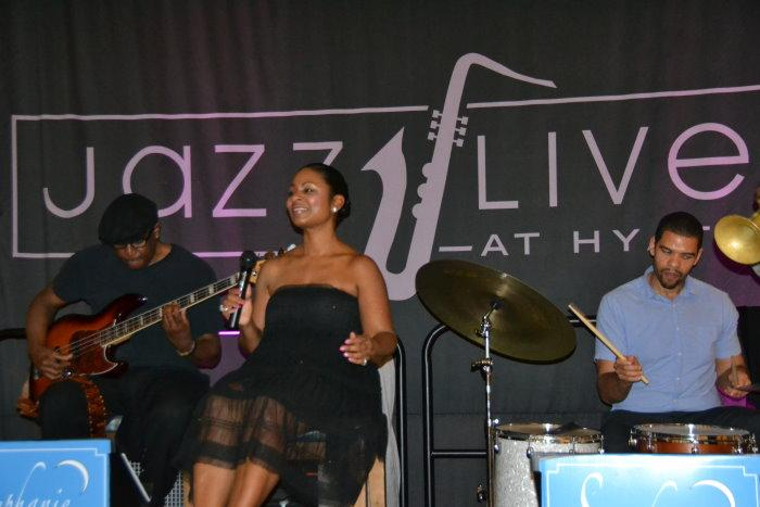 Stephanie Jordan at Jazz Live Hyatt