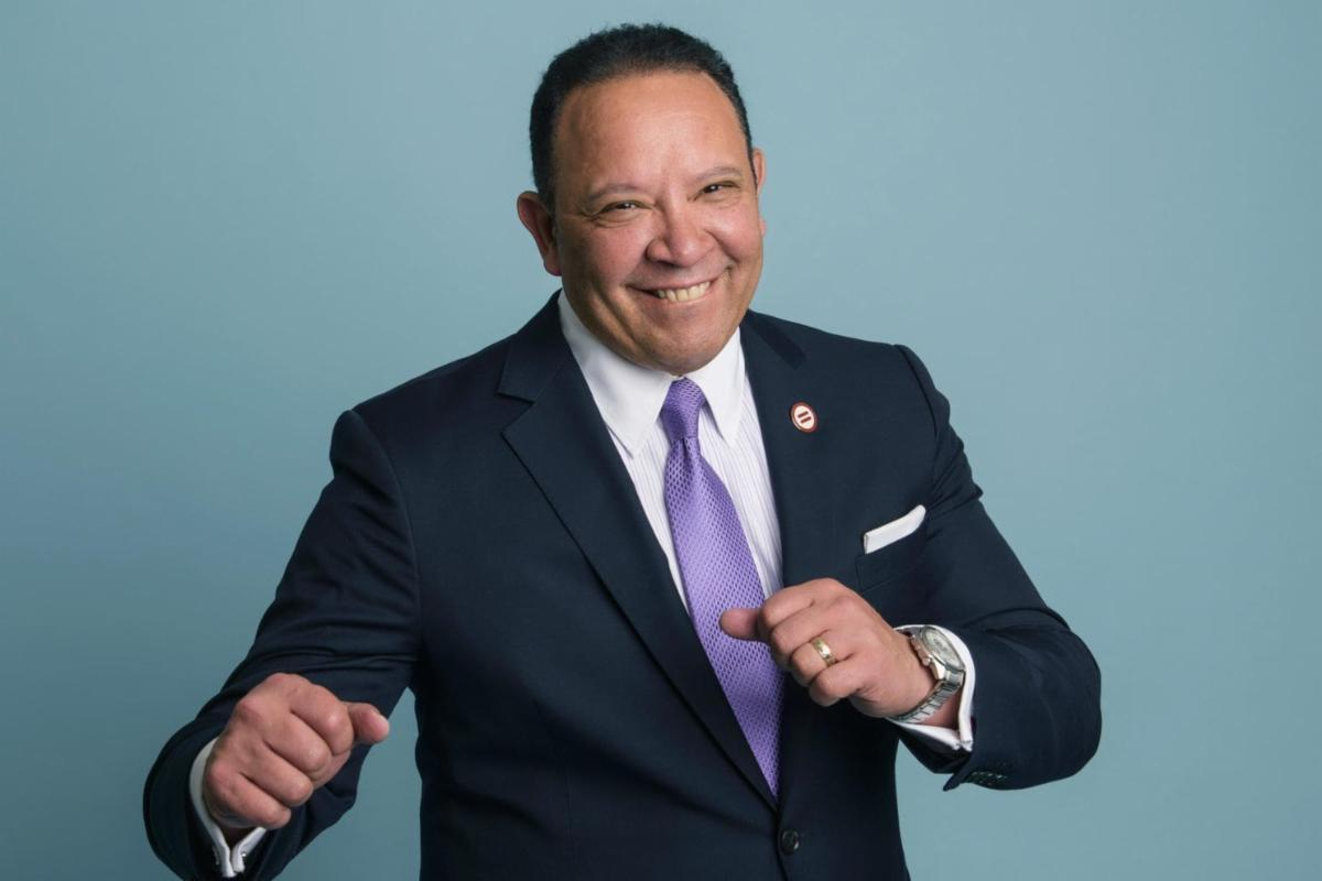 Marc Morial - fists