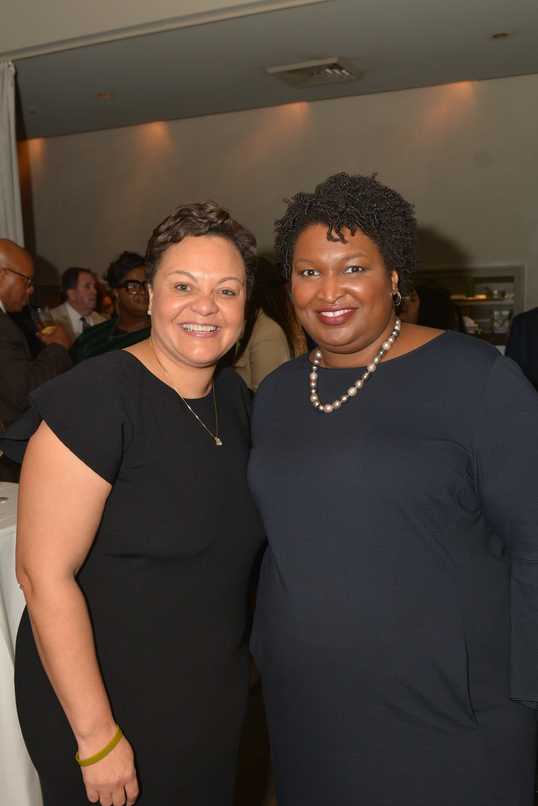 Senator Karen Carter Peterson and Stacey Abrams